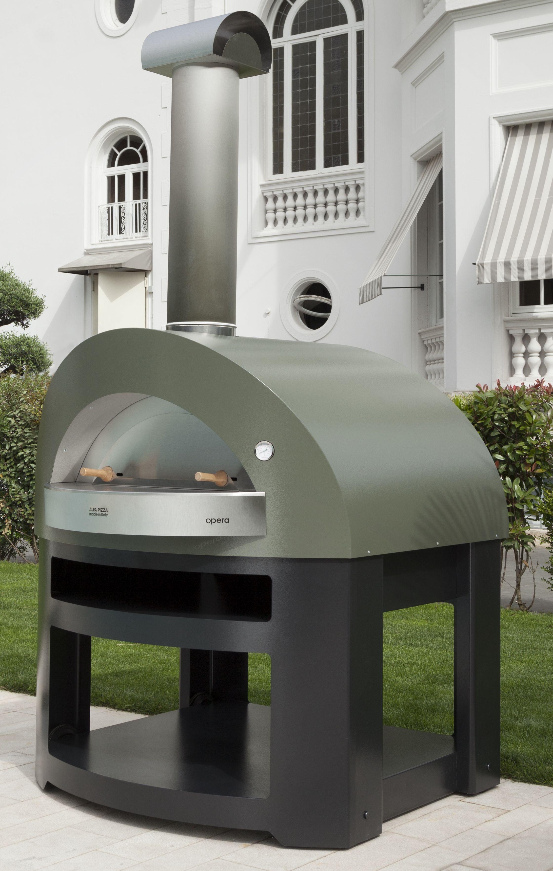 Forni per pizza a legna o a gas macchine alimentari - Forni per pizza casalinghi ...