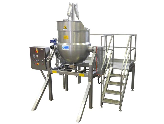 Bacinella di cottura Inox Fer, per la produzione di marmellate, confetture, salse, sughi di carne o di verdura