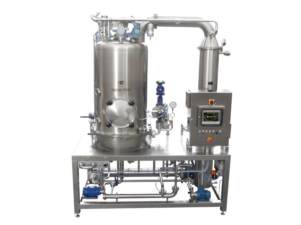 Per mantenere le caratteristiche organolettiche degli ingredienti, ideale è la bolla di concentrazione sottovuoto