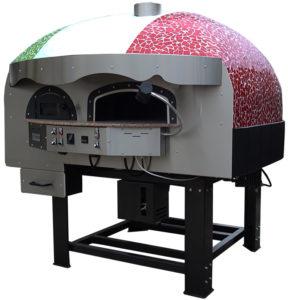 Forni per pizza a legna gas e pellet macchine alimentari for Bruciatore a pellet per forno