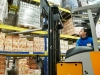 warehouse stacker loader worker