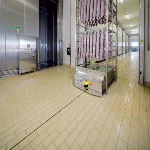 Pavimenti di piastrelle a posa continua macchine alimentari - Piastrelle senza fughe ...