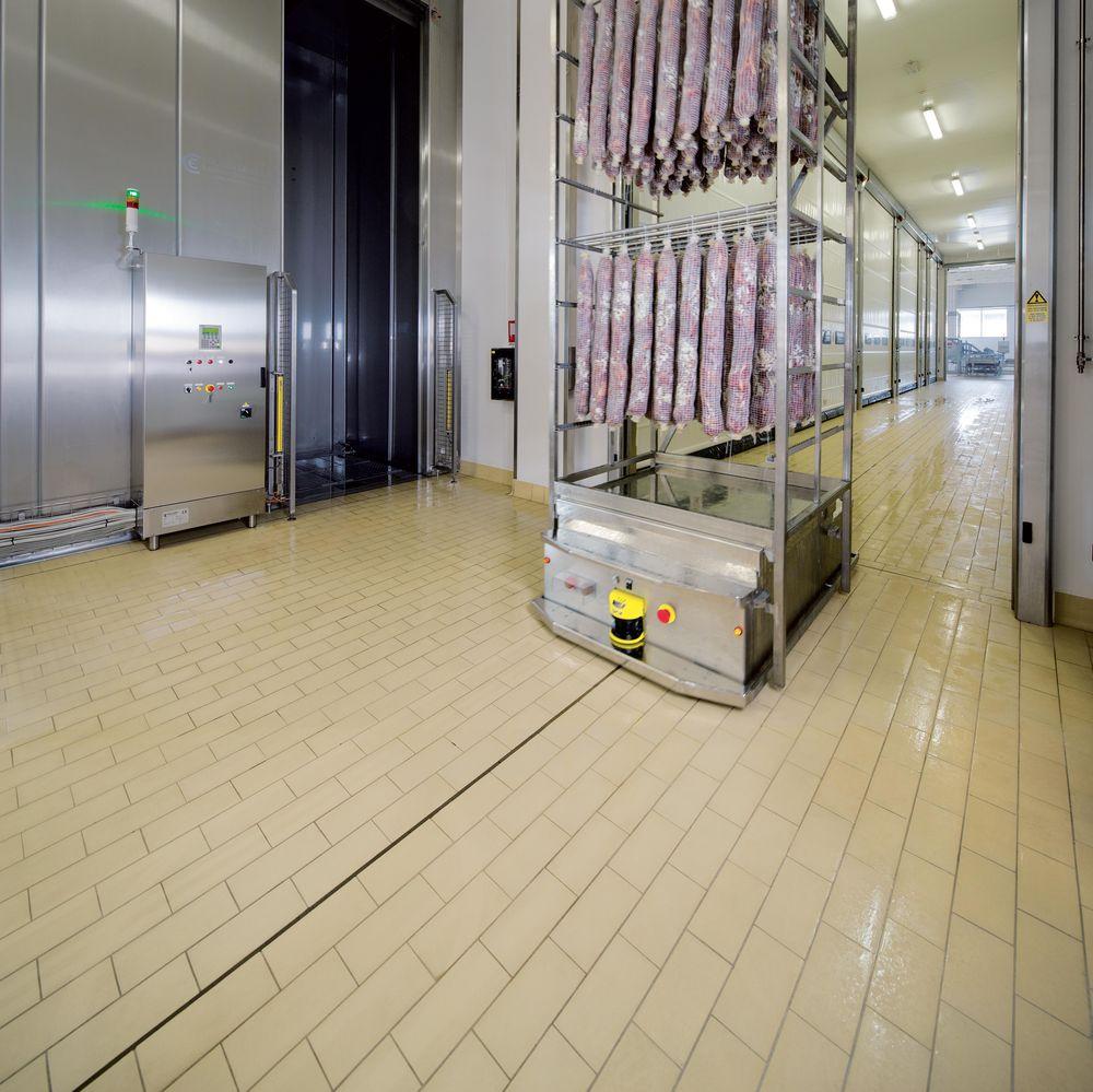 Pavimenti di piastrelle a posa continua macchine alimentari - Produttori di piastrelle ...